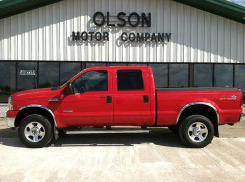2006 Ford F-350 Super Duty for sale at Olson Motor Company in Morris MN