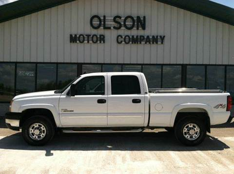 2006 Chevrolet Silverado 2500 for sale at Olson Motor Company in Morris MN