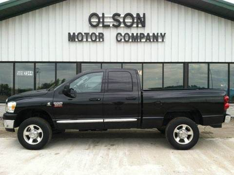 2008 Dodge Ram Pickup 2500 for sale at Olson Motor Company in Morris MN