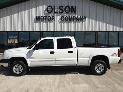 2006 Chevrolet Silverado 2500HD for sale at Olson Motor Company in Morris MN