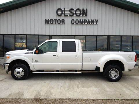 2012 Ford F-350 Super Duty for sale at Olson Motor Company in Morris MN