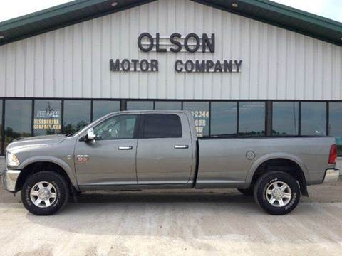 2010 Dodge Ram Pickup 2500 for sale at Olson Motor Company in Morris MN