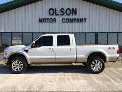 2008 Ford F-350 Super Duty for sale at Olson Motor Company in Morris MN