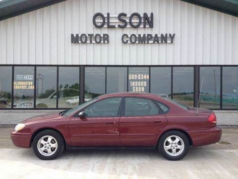 2005 Ford Taurus for sale at Olson Motor Company in Morris MN
