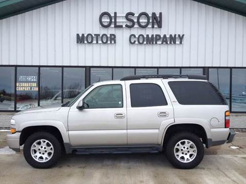 2005 Chevrolet Tahoe for sale at Olson Motor Company in Morris MN