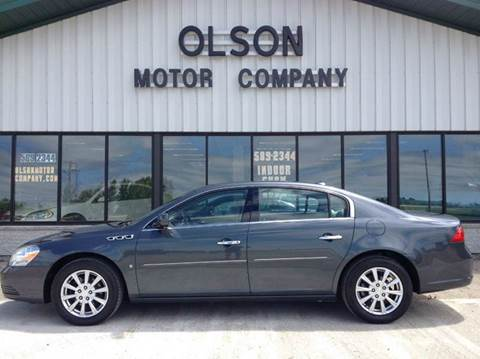 2009 Buick Lucerne for sale at Olson Motor Company in Morris MN
