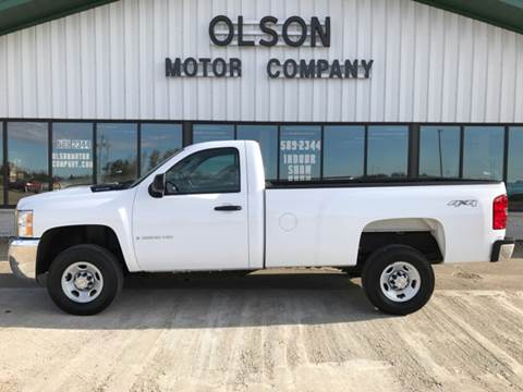 2009 Chevrolet Silverado 2500HD for sale at Olson Motor Company in Morris MN