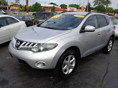 2009 nissan murano for sale in wisconsin. Black Bedroom Furniture Sets. Home Design Ideas