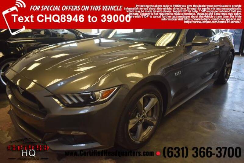 2015 Ford Mustang 2dr Fastback GT Premium - St James NY