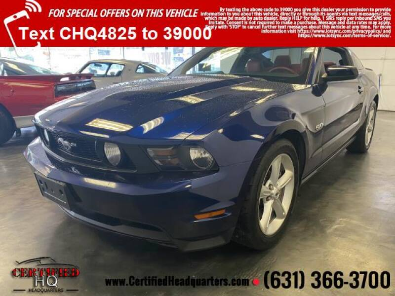 2011 Ford Mustang 2dr Cpe GT Premium - St James NY