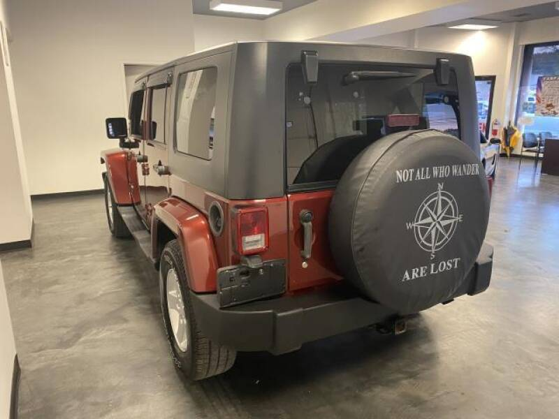 2007 Jeep Wrangler Unlimited 4x4 Sahara 4dr SUV - St James NY