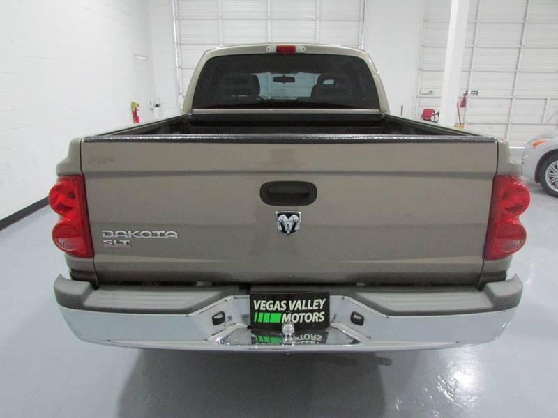 2006 Dodge Dakota SLT 4dr Quad Cab SB - Las Vegas NV