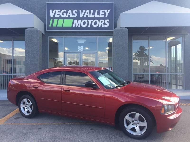2009 Dodge Charger SE 4dr Sedan In Las Vegas NV  Vegas Valley Motors