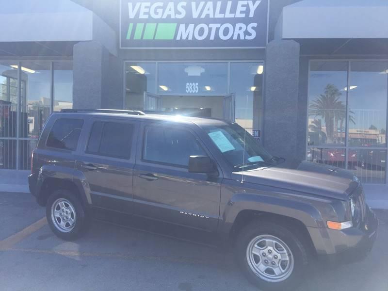 2015 Jeep Patriot Sport 4dr Suv In Las Vegas Nv Vegas