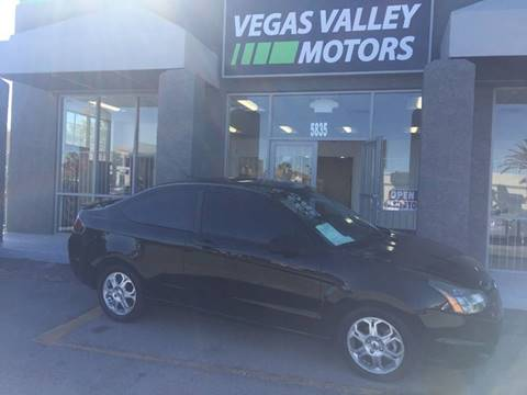 2010 Ford Focus for sale in Las Vegas, NV