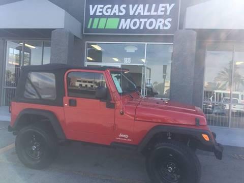 2006 Jeep Wrangler for sale in Las Vegas, NV