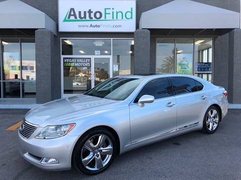 used lexus ls 460 for sale in las vegas, nv - carsforsale®