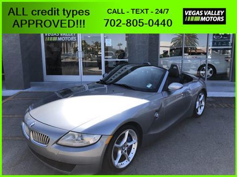 2007 BMW Z4 for sale in Las Vegas, NV