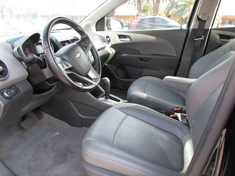 2015 Chevrolet Sonic LTZ Auto 4dr Sedan - Las Vegas NV
