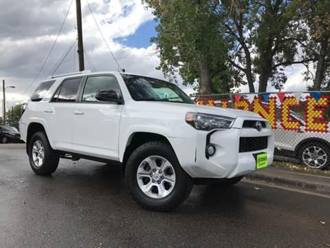 2014 Toyota 4Runner for sale at McManus Motors in Wheat Ridge CO