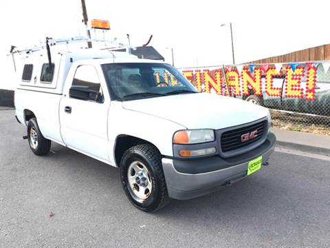 2001 GMC Sierra 1500 for sale at McManus Motors in Wheat Ridge CO
