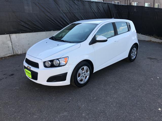 2013 Chevrolet Sonic for sale at McManus Motors in Wheat Ridge CO