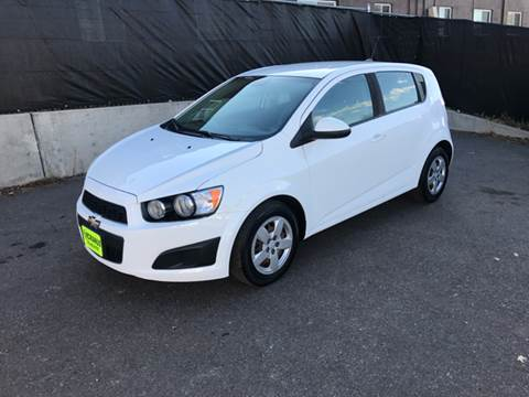 2013 Chevrolet Sonic for sale at McManus Motors in Wheat Ridge CO