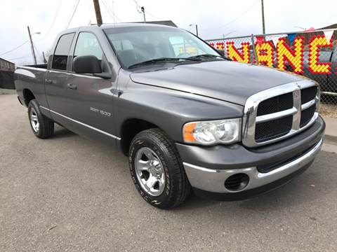 2004 Dodge Ram Pickup 1500 for sale at McManus Motors in Wheat Ridge CO