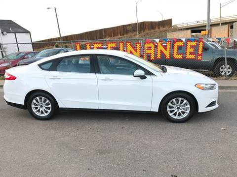 2016 Ford Fusion for sale at McManus Motors in Wheat Ridge CO