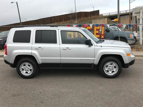 2012 Jeep Patriot for sale at McManus Motors in Wheat Ridge CO