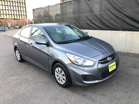 2016 Hyundai Accent for sale at McManus Motors in Wheat Ridge CO