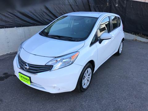 2016 Nissan Versa Note for sale at McManus Motors in Wheat Ridge CO