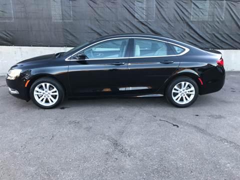 2015 Chrysler 200 for sale at McManus Motors in Wheat Ridge CO