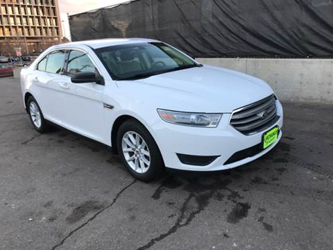 2013 Ford Taurus for sale at McManus Motors in Wheat Ridge CO