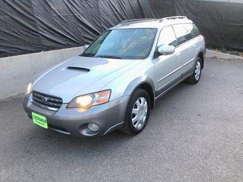 2005 Subaru Outback for sale at McManus Motors in Wheat Ridge CO
