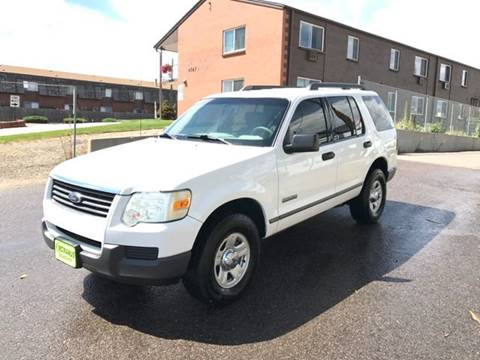 2006 Ford Explorer for sale at McManus Motors in Wheat Ridge CO