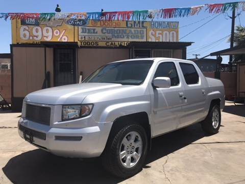 2006 Honda Ridgeline for sale at DEL CORONADO MOTORS in Phoenix AZ