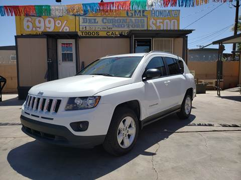 2014 Jeep Compass for sale at DEL CORONADO MOTORS in Phoenix AZ