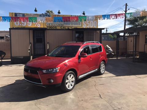 2012 Mitsubishi Outlander for sale at DEL CORONADO MOTORS in Phoenix AZ