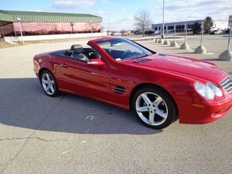 2004 Mercedes-Benz SL-Class for sale at Sinclair Auto Inc. in Pendleton IN