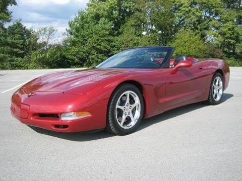 2000 Chevrolet Corvette for sale at Sinclair Auto Inc. in Pendleton IN