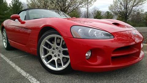 2003 Dodge Viper for sale at Sinclair Auto Inc. in Pendleton IN