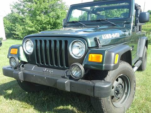 2004 Jeep Wrangler for sale at Sinclair Auto Inc. in Pendleton IN