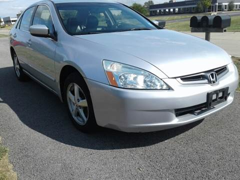 2003 Honda Accord for sale at Sinclair Auto Inc. in Pendleton IN