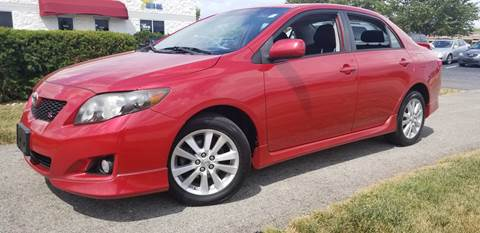 2010 Toyota Corolla for sale at Sinclair Auto Inc. in Pendleton IN