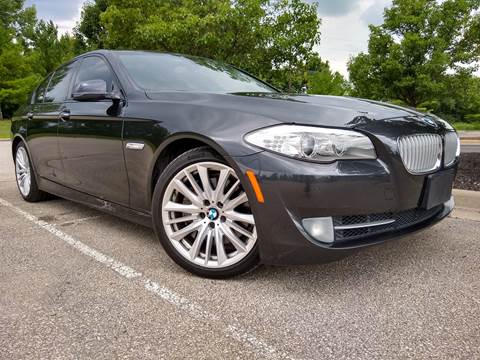 2011 BMW 5 Series for sale at Sinclair Auto Inc. in Pendleton IN