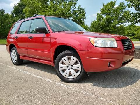 2008 Subaru Forester for sale at Sinclair Auto Inc. in Pendleton IN