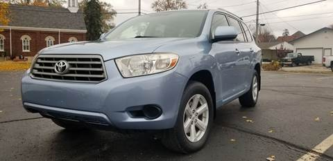 2008 Toyota Highlander for sale at Sinclair Auto Inc. in Pendleton IN
