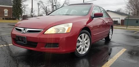2007 Honda Accord for sale at Sinclair Auto Inc. in Pendleton IN