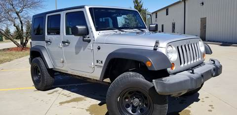 2007 Jeep Wrangler Unlimited for sale in Fortville, IN